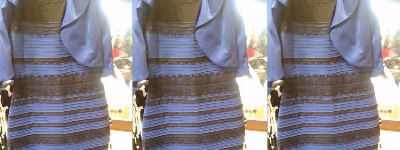 Видео черно синее платье или бело золотое