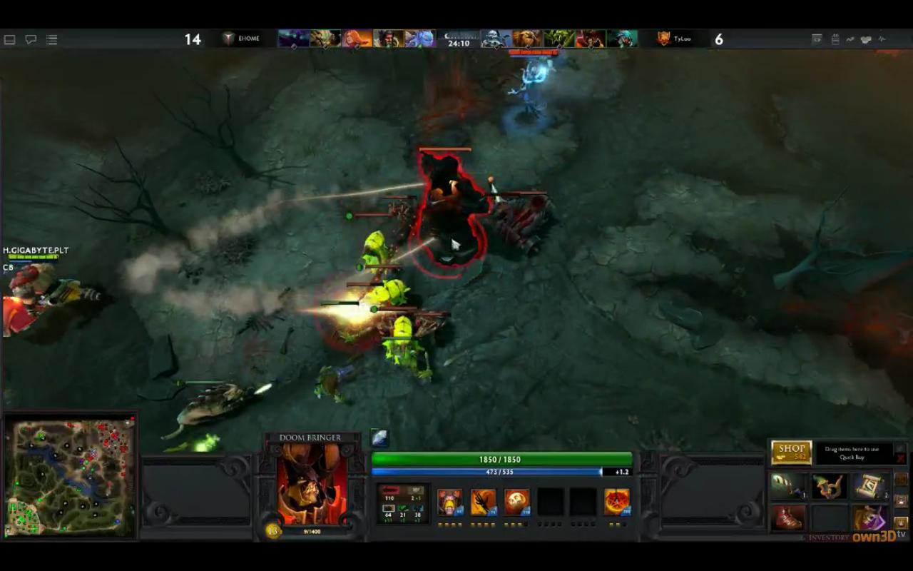 Скриншоты DOTA 2 с gamescom 2011 - Shazoo
