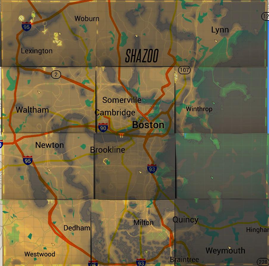 Карта Мира Fallout 2