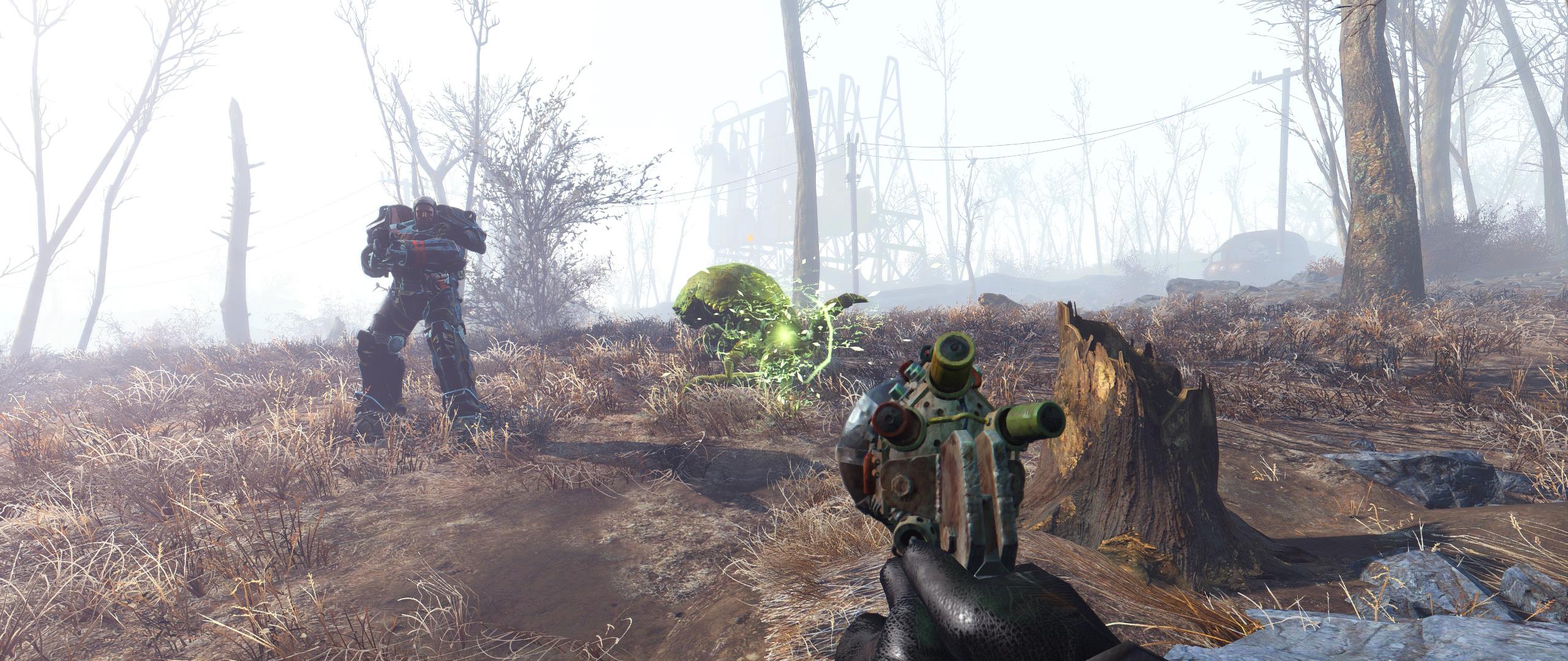 Enhanced Wasteland Preset 1.0 для Fallout 4 - Скриншот 1