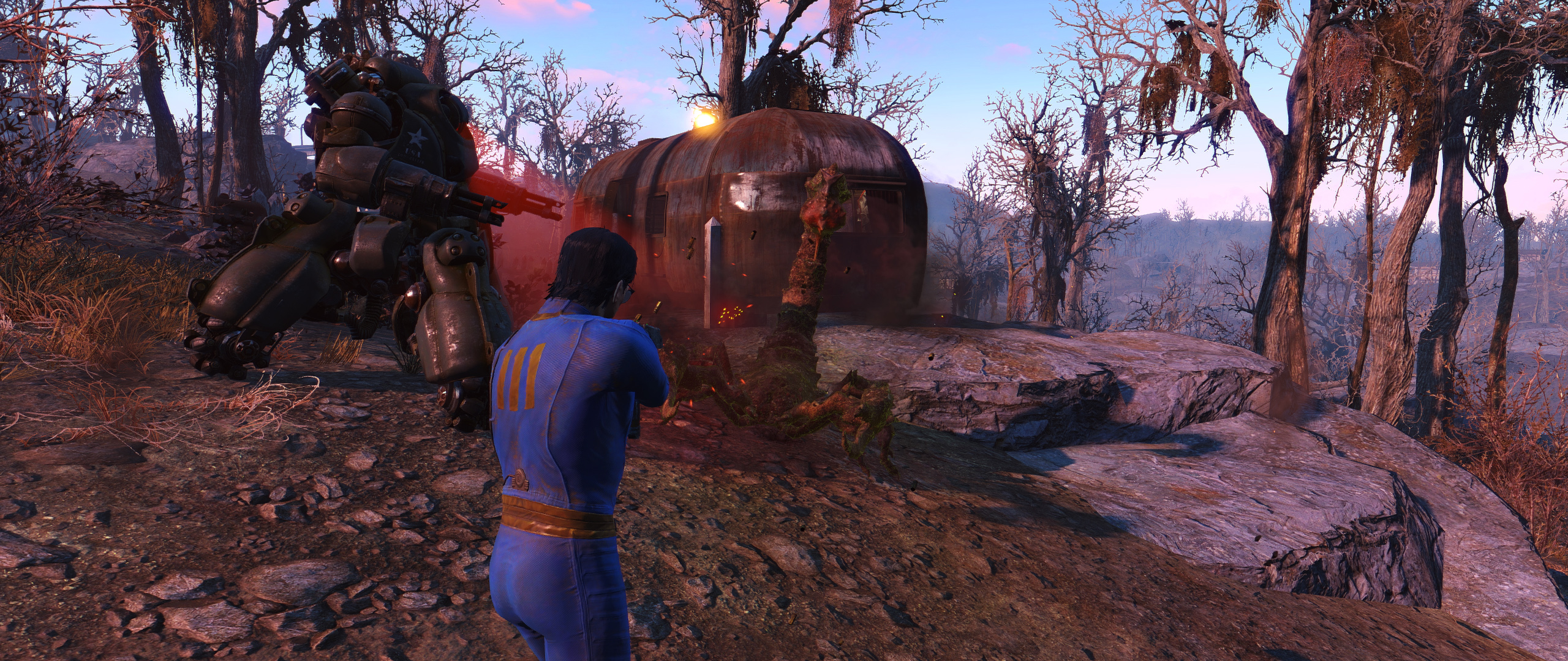 Enhanced Wasteland Preset 1.0 для Fallout 4 - Скриншот 3