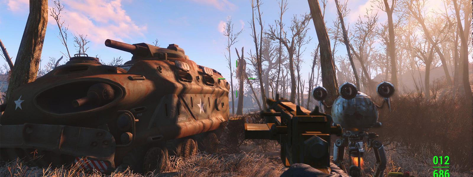 Мод Enbseries для Fallout 4