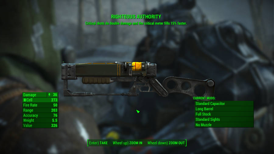 fallout 4 самое мощное оружие игре