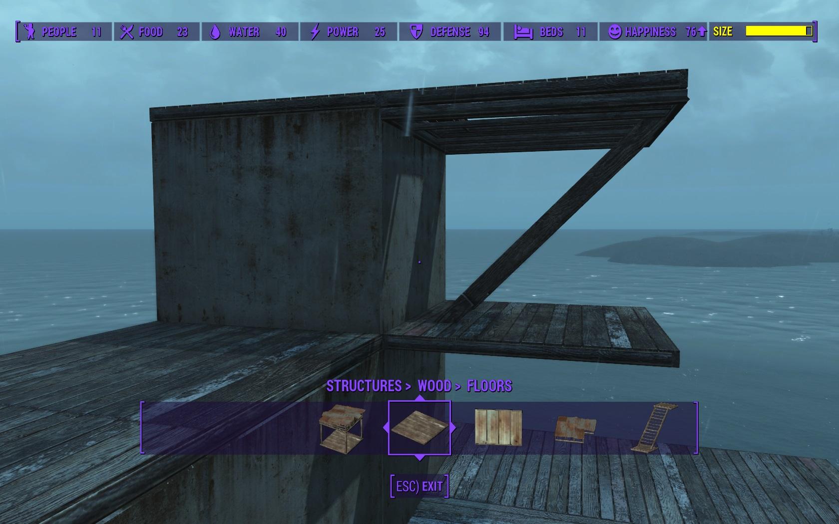 восстановление стен замка fallout 4 мод