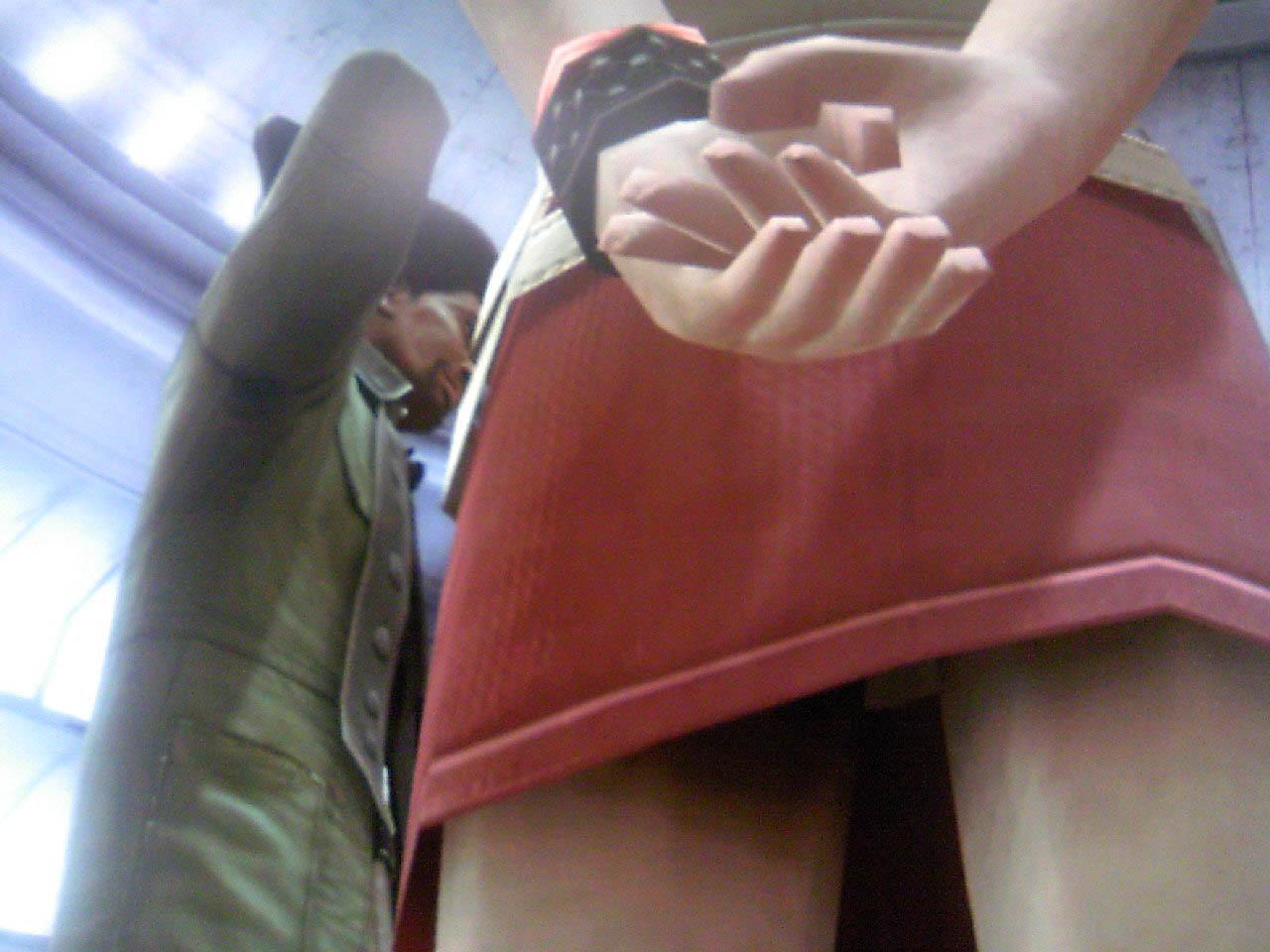 Под юбкой студентки
