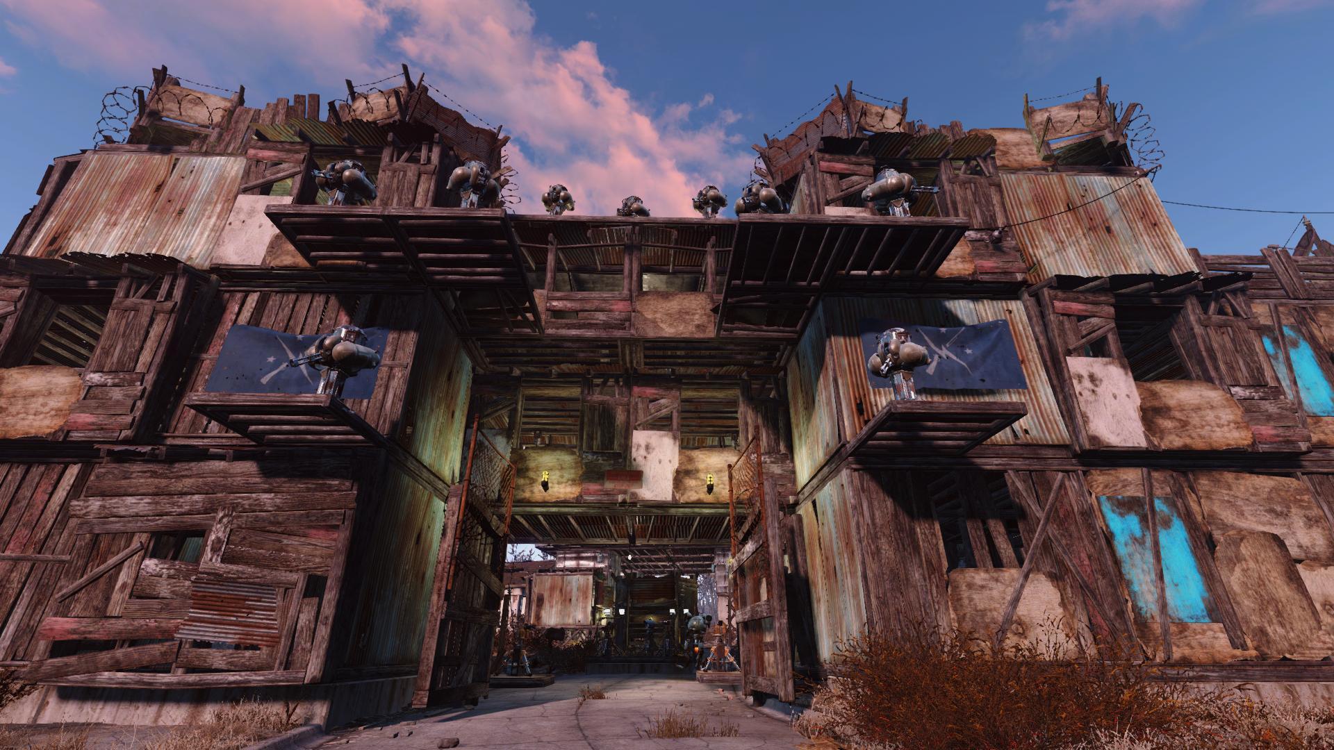 Fallout 4 Строительство Базы Гайд