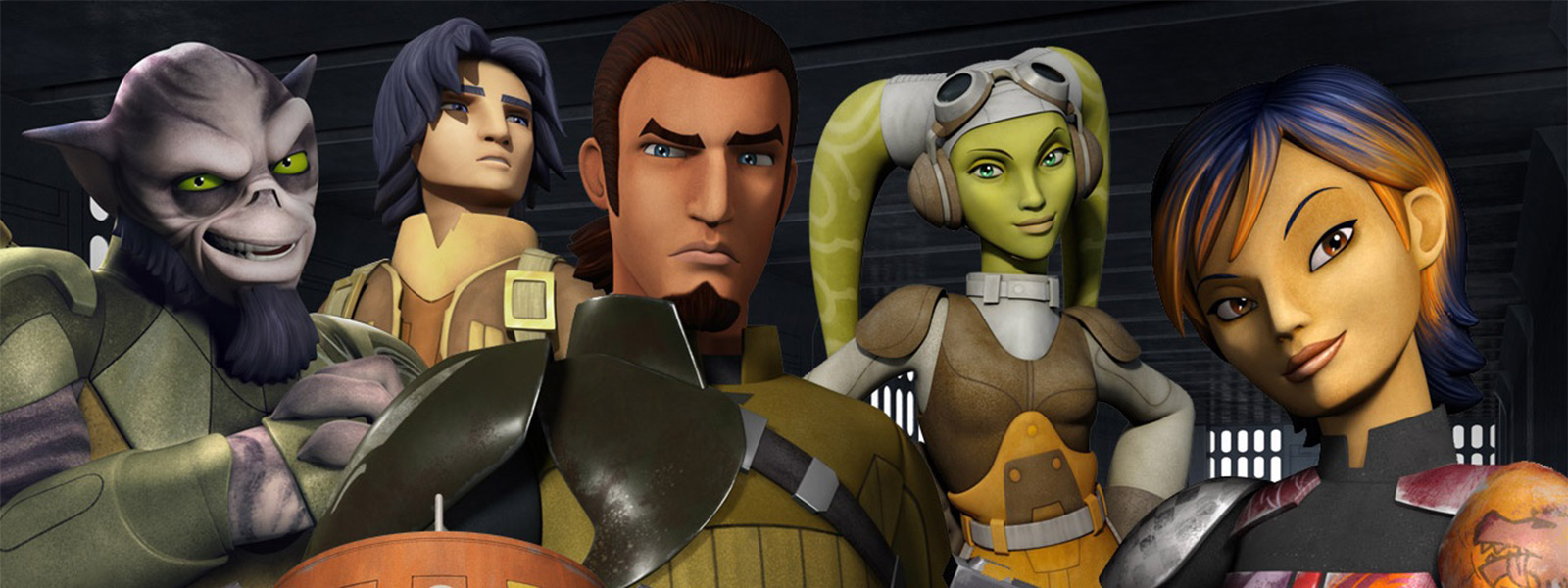 Created by Simon Kinberg Carrie Beck Dave Filoni With Taylor Gray Dave Filoni Vanessa Marshall Freddie Prinze Jr A brave and clever ragtag starship crew