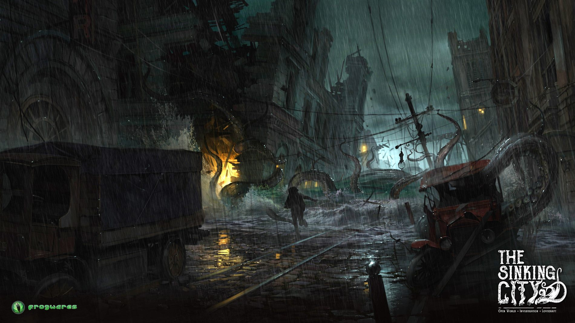 The Sinking City (2016) PC - Скриншот 3