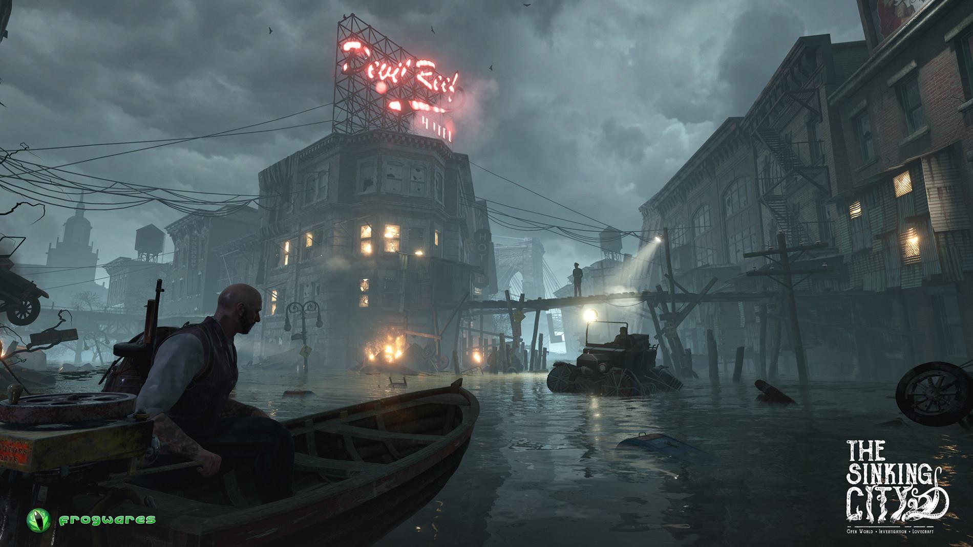 The Sinking City (2016) PC - Скриншот 1