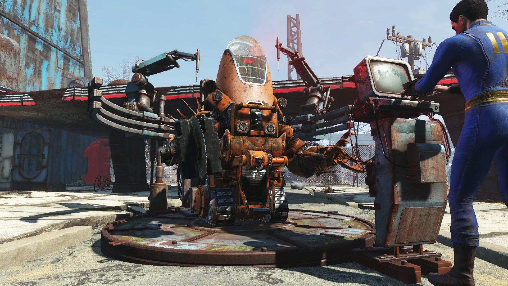 Трейлер дополнения Fallout 4: Automatron и скриншоты