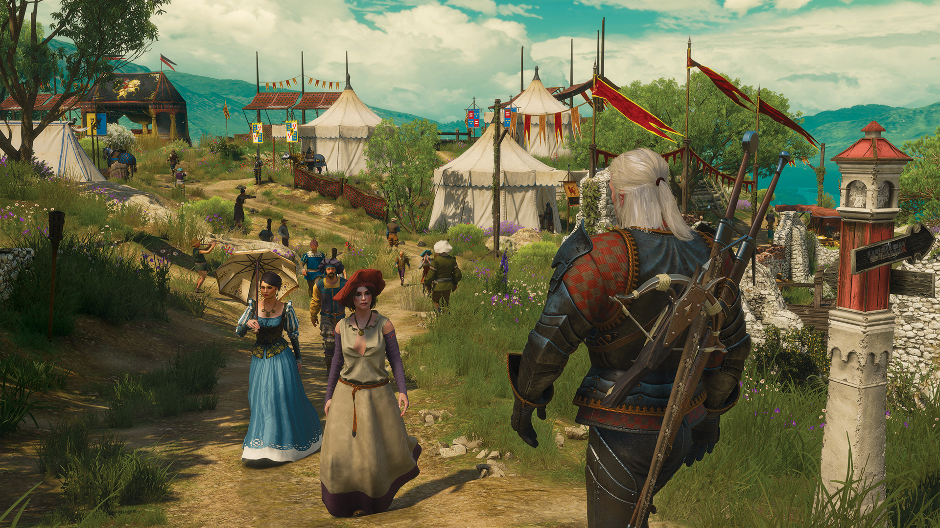 The Witcher 3: Wild Hunt [v 1.21 + 18 DLC] (2015) PC | RePack от Valdeni - Скриншот 3
