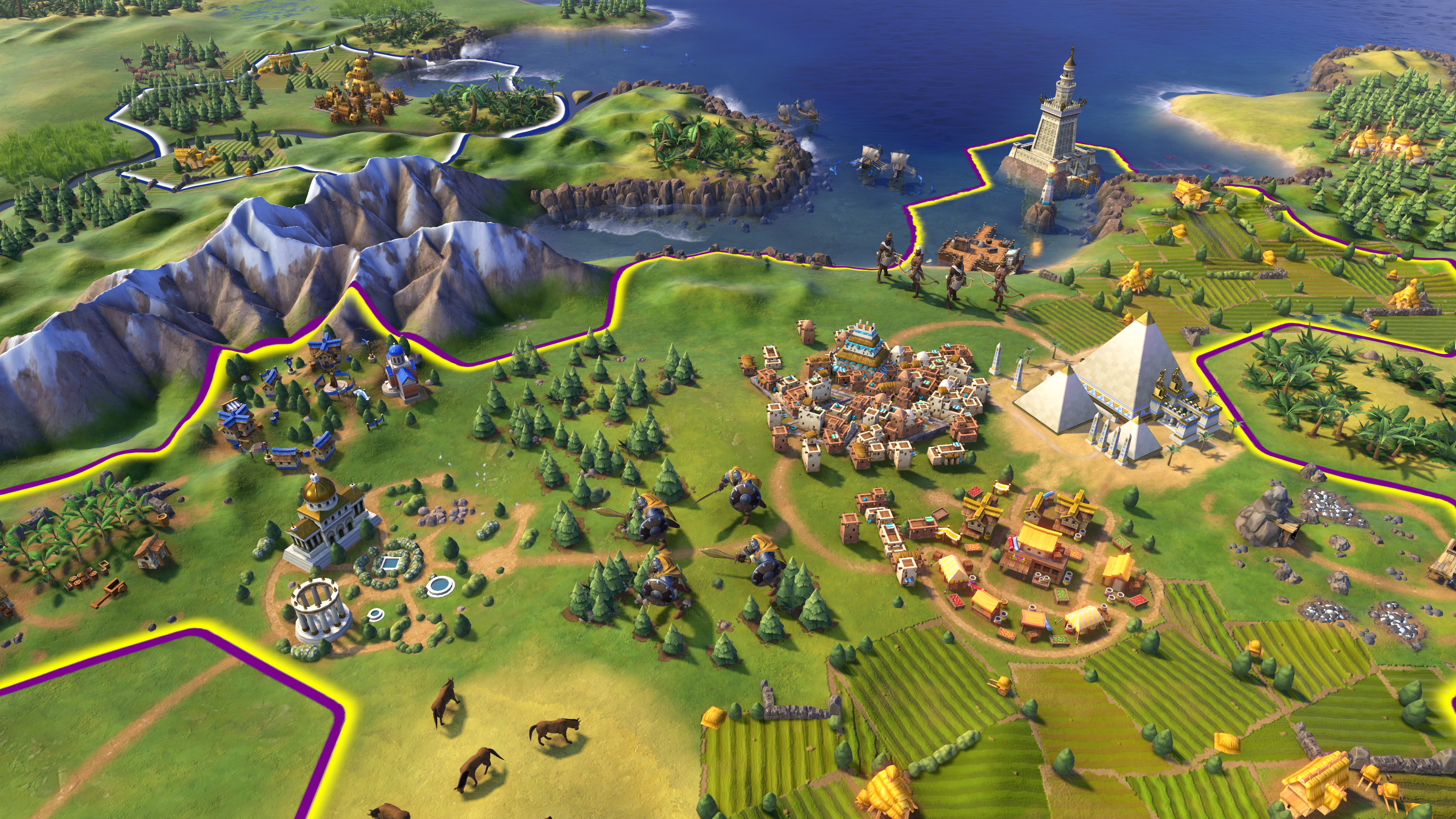 Sid Meier's Civilization VI: Digital Deluxe [v.1.0.0.26 + 2 DLC] (2016) PC | RePack от Juk.v.Muravenike - Скриншот 1
