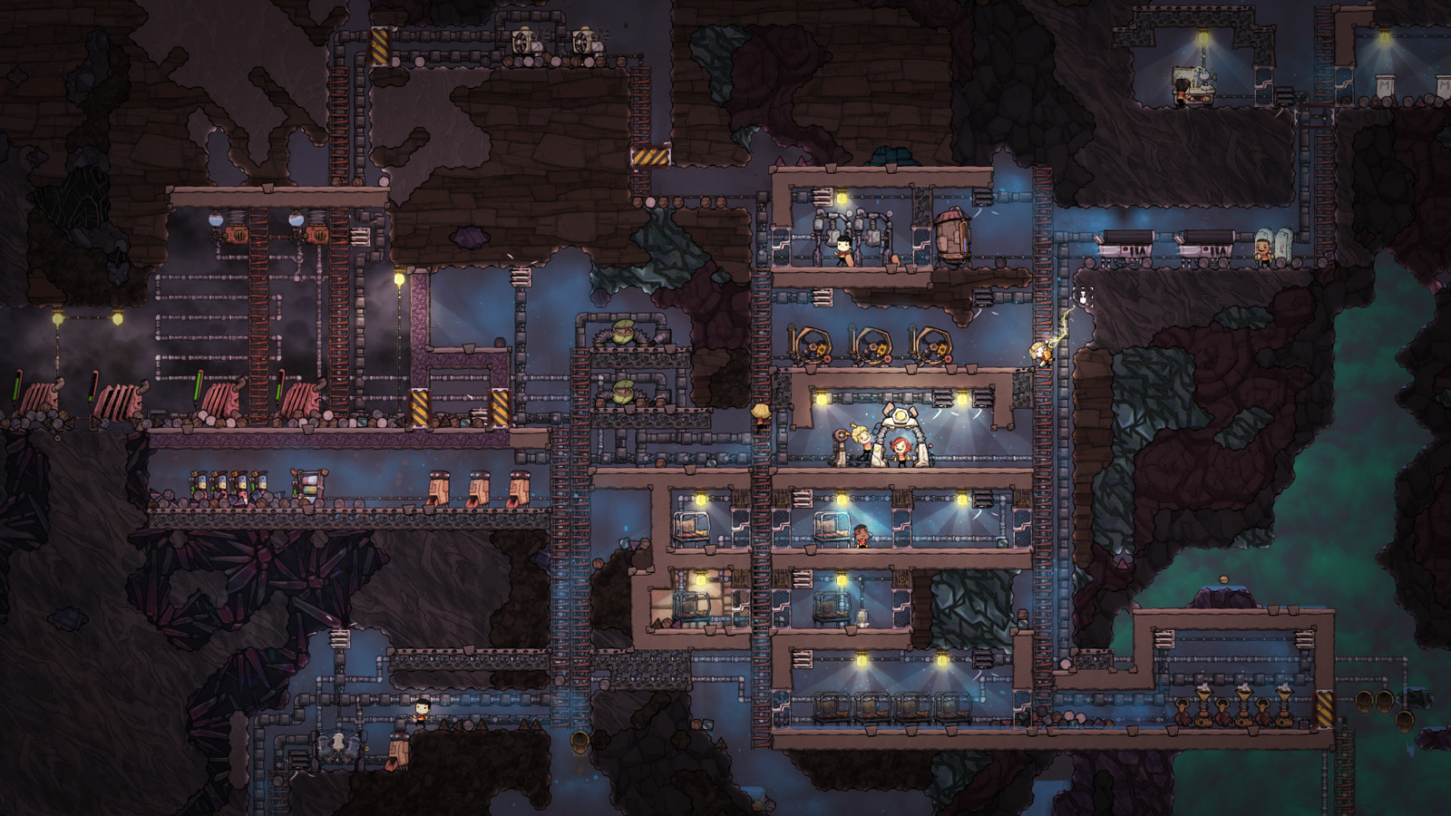 Oxygen Not Included (2017) PC - Скриншот 2