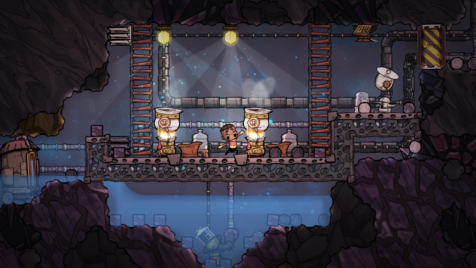Oxygen Not Included (2017) PC - Скриншот 1