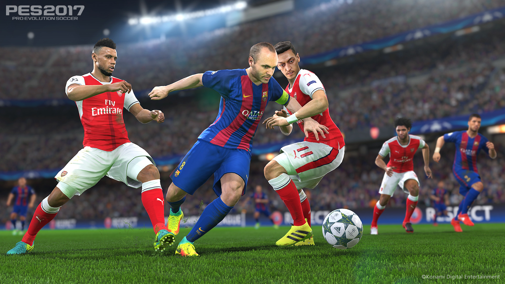 PES 2017 / Pro Evolution Soccer 2017 (2016) PC - Скриншот 3