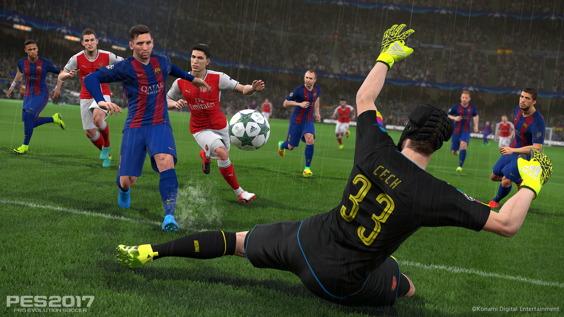 PES 2017 / Pro Evolution Soccer 2017 (2016) PC - Скриншот 2