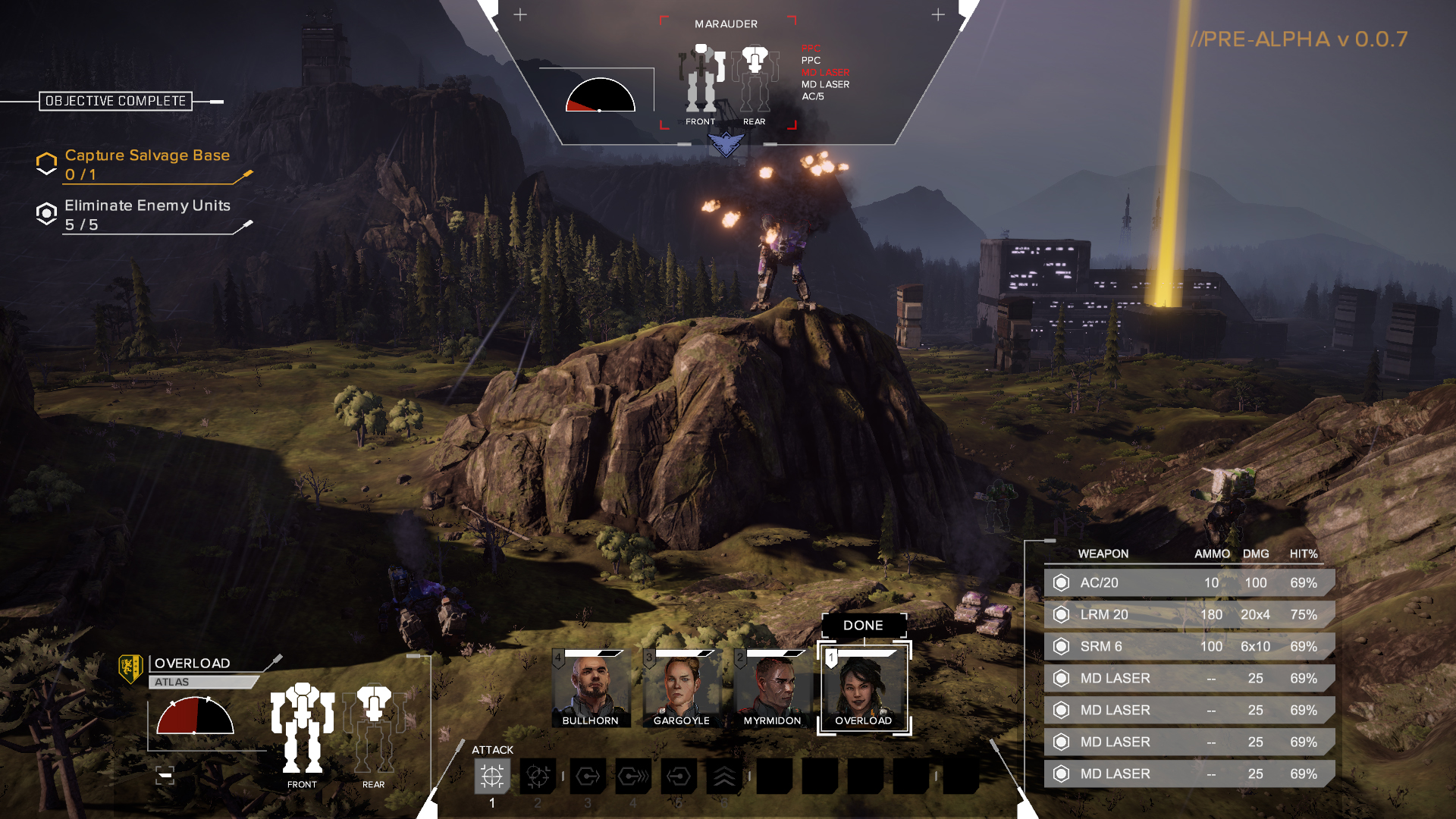 BattleTech (2016) PC - Скриншот 1