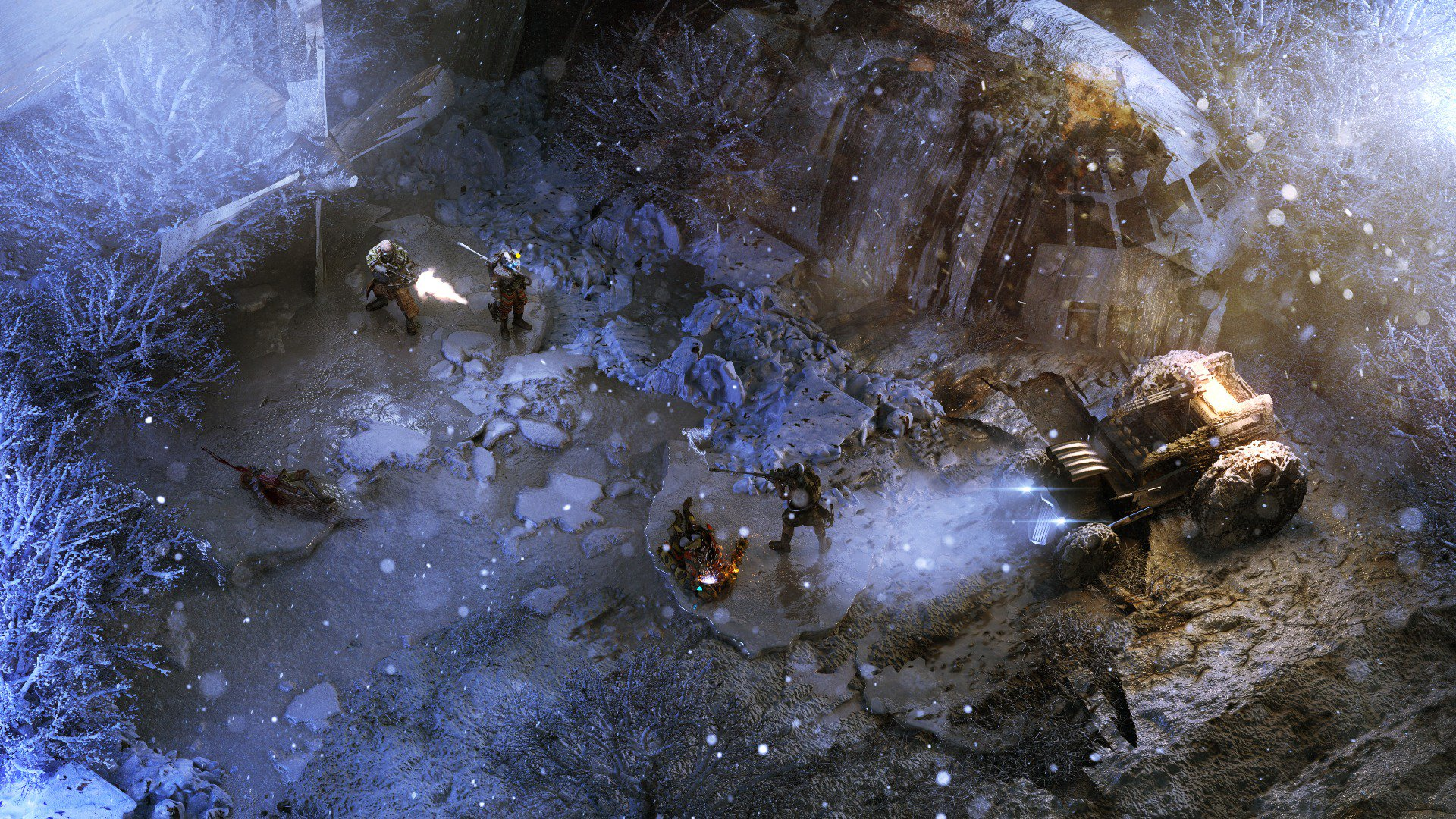 Wasteland 3 (2017) PC - Скриншот 2