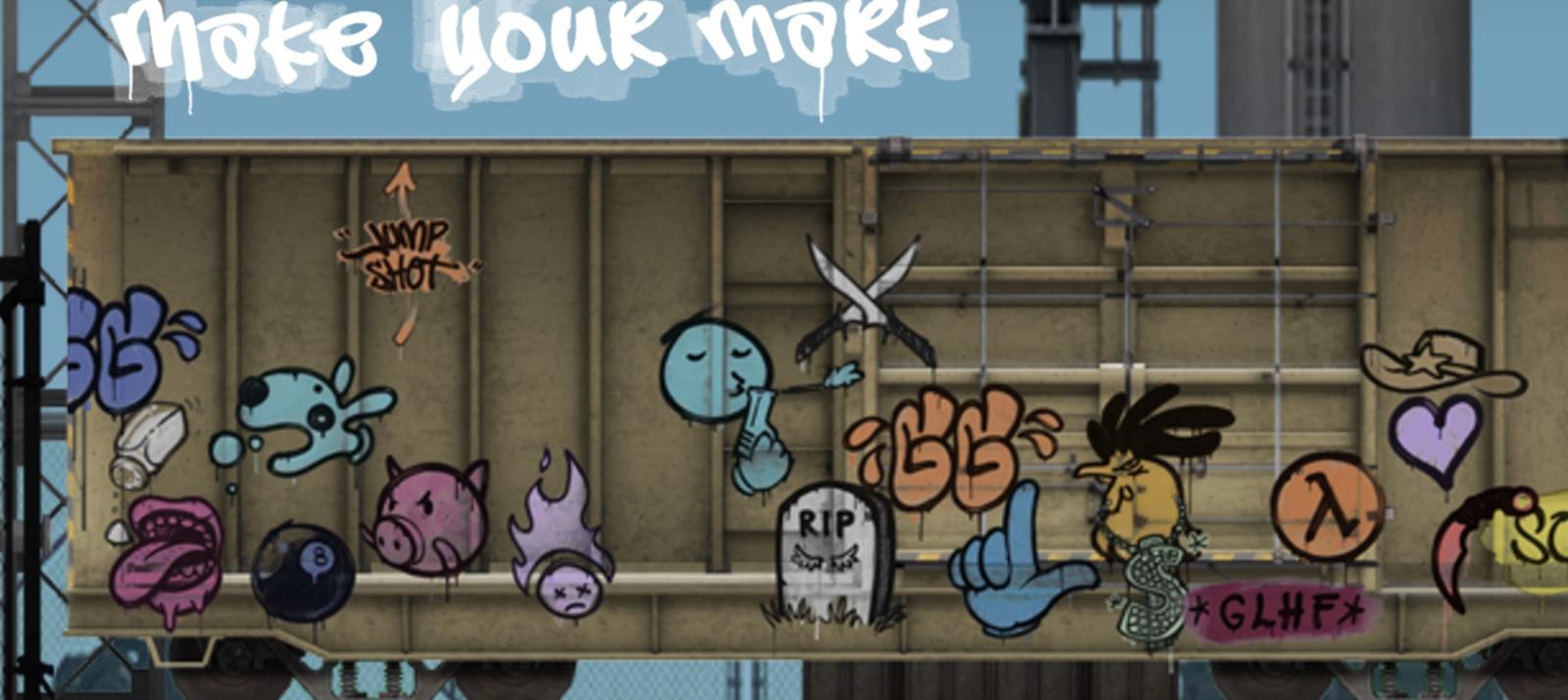 Как сделать граффити для кс го