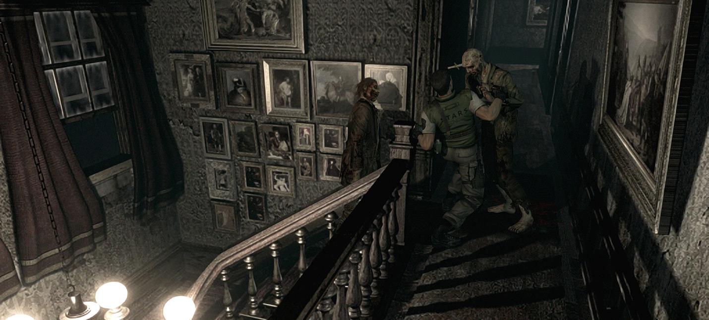 Ремастер Resident Evil от первого лица при помощи мода