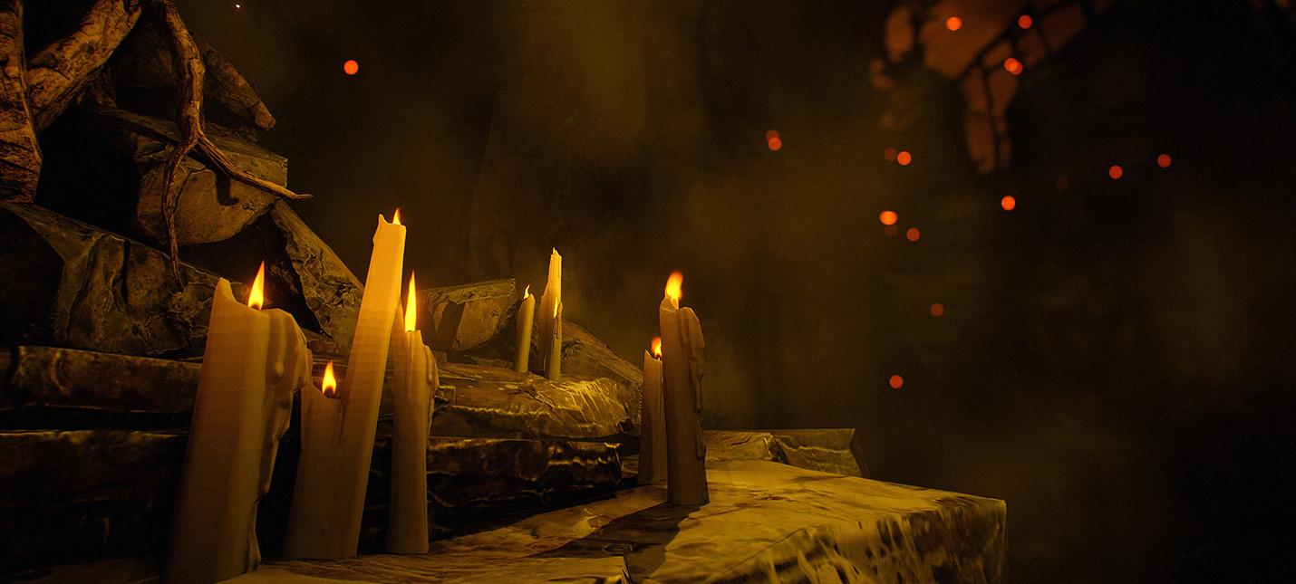 Объяснение, почему в Doom так много свечей