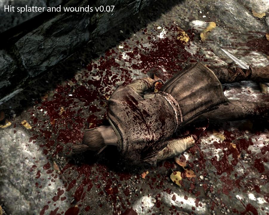 скачать мод на много крови на скайрим - фото 2