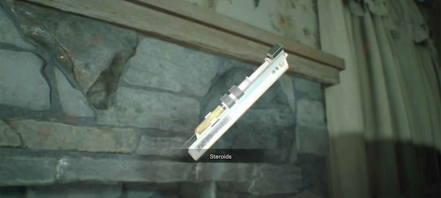 Гайд Resident Evil 7 — месторасположение стероидов