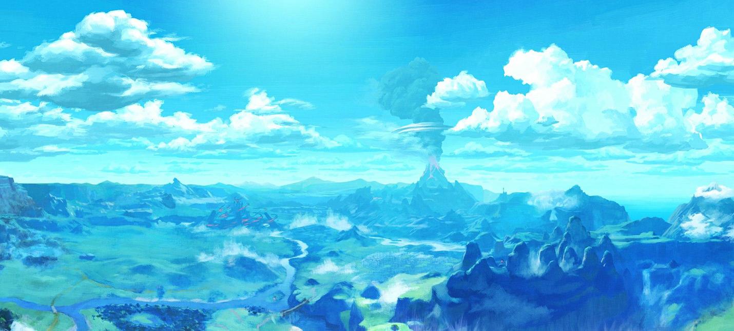 Новый трейлер The Legend of Zelda: Breath of the Wild радует звуками среды