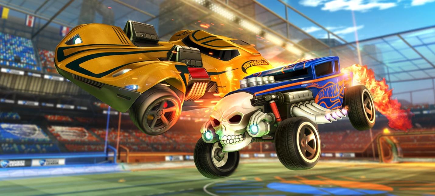 Игрушки Hot Wheels появятся в Rocket League