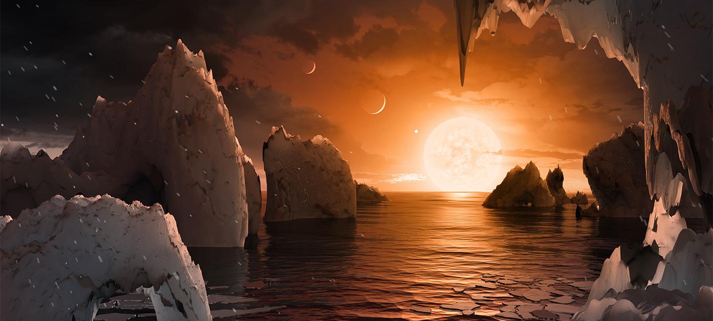 NASA сообщила об открытии семи новых экзопланет в одной системе