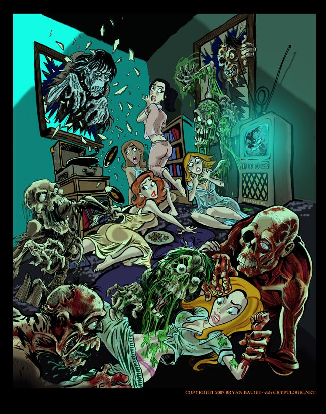 зомби апокалипсис порно комиксы № 23938  скачать