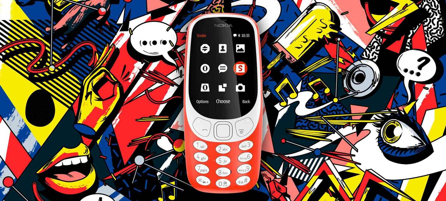 Nokia 3310 вернулась. Теперь с камерой