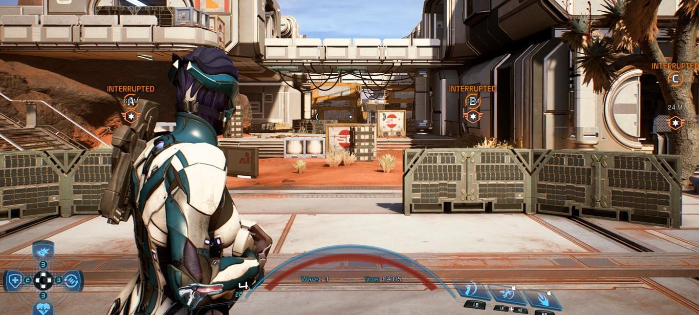 Скриншоты мультиплеера Mass Effect Andromeda и причины отмены тестирования