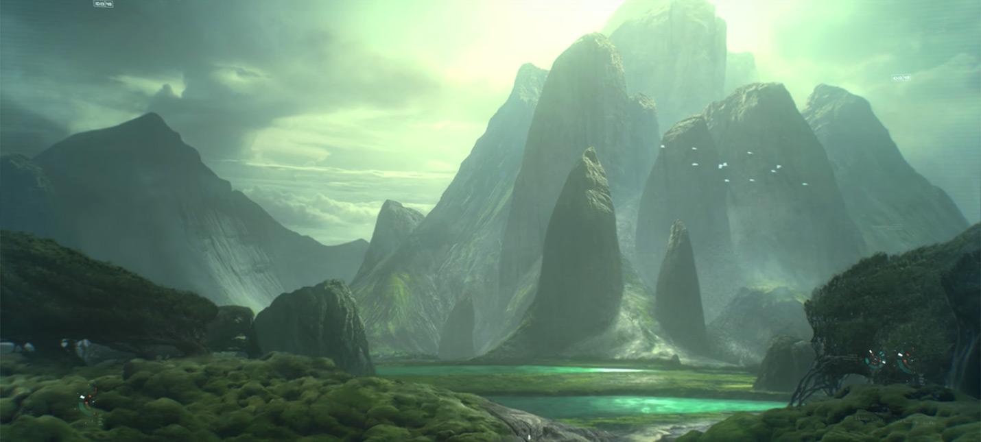Новый брифинг Mass Effect Andromeda — золотые миры