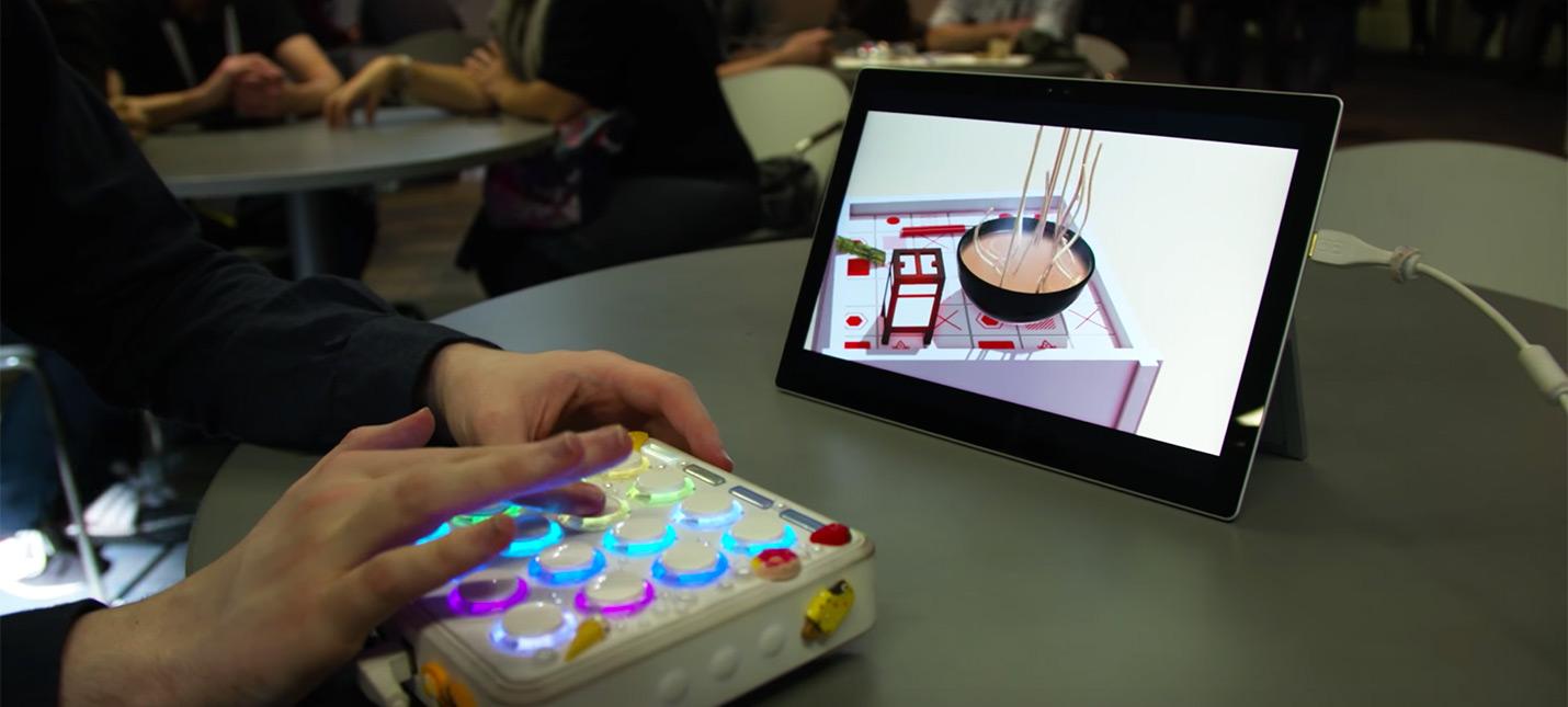 NOUR — физический симулятор игры с едой