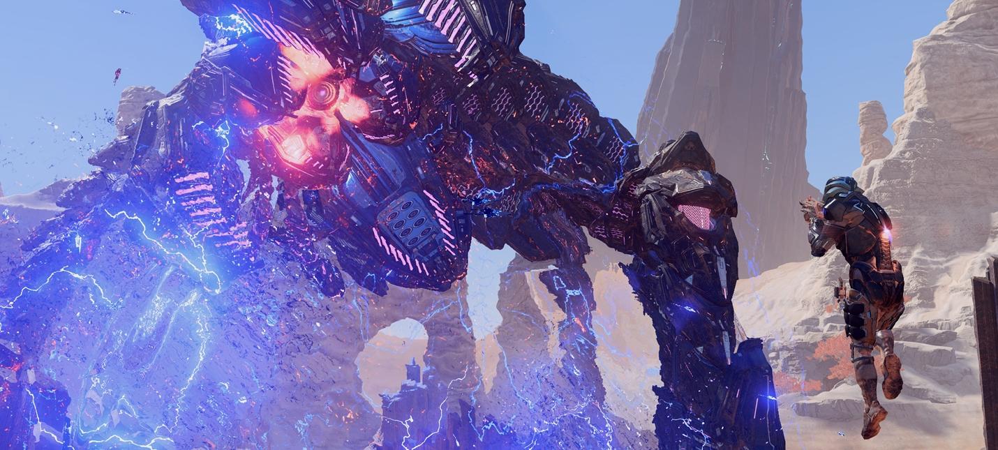 Геймплей мультиплеера Mass Effect Andromeda с альфа-тестирования