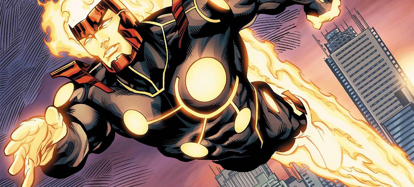 Анонс нового персонажа Injustice 2 — Огненный Шторм