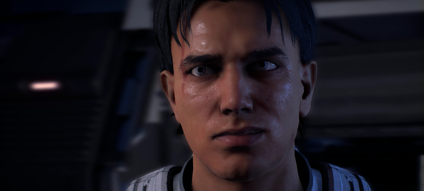 Еще одно видео создания лица в Mass Effect Andromeda — адекватная версия