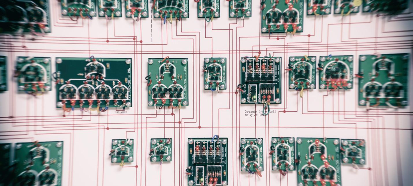 Мегапроцессор позволяет увидеть работу процессора собственными глазами