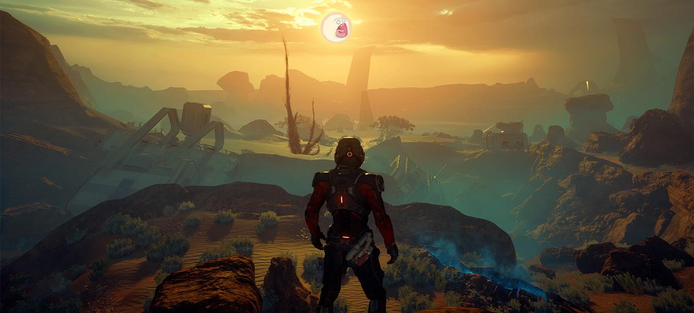 Выдержки из обзоров Mass Effect Andromeda