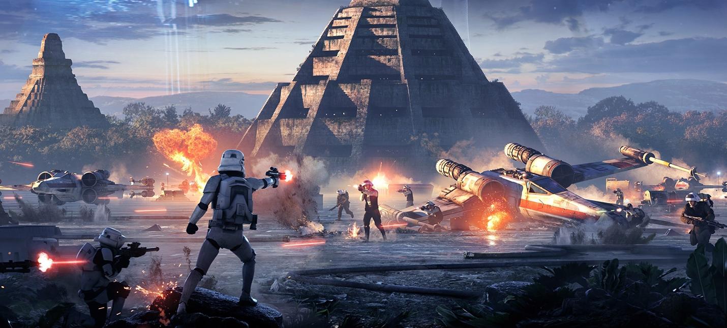 Ключевой арт Star Wars Battlefront II наполнен массой деталей