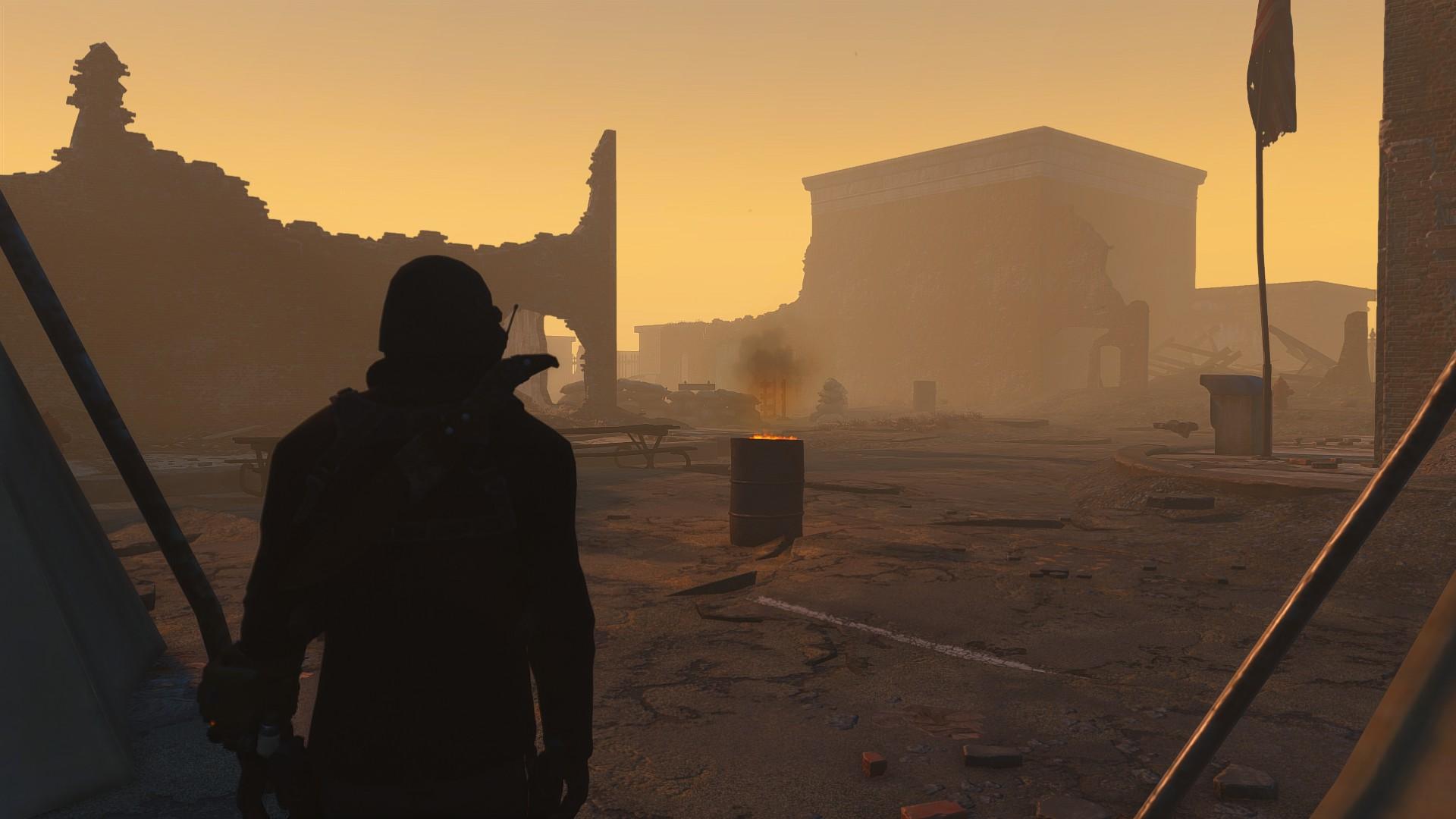 Моддер создает New Vegas в Fallout 4