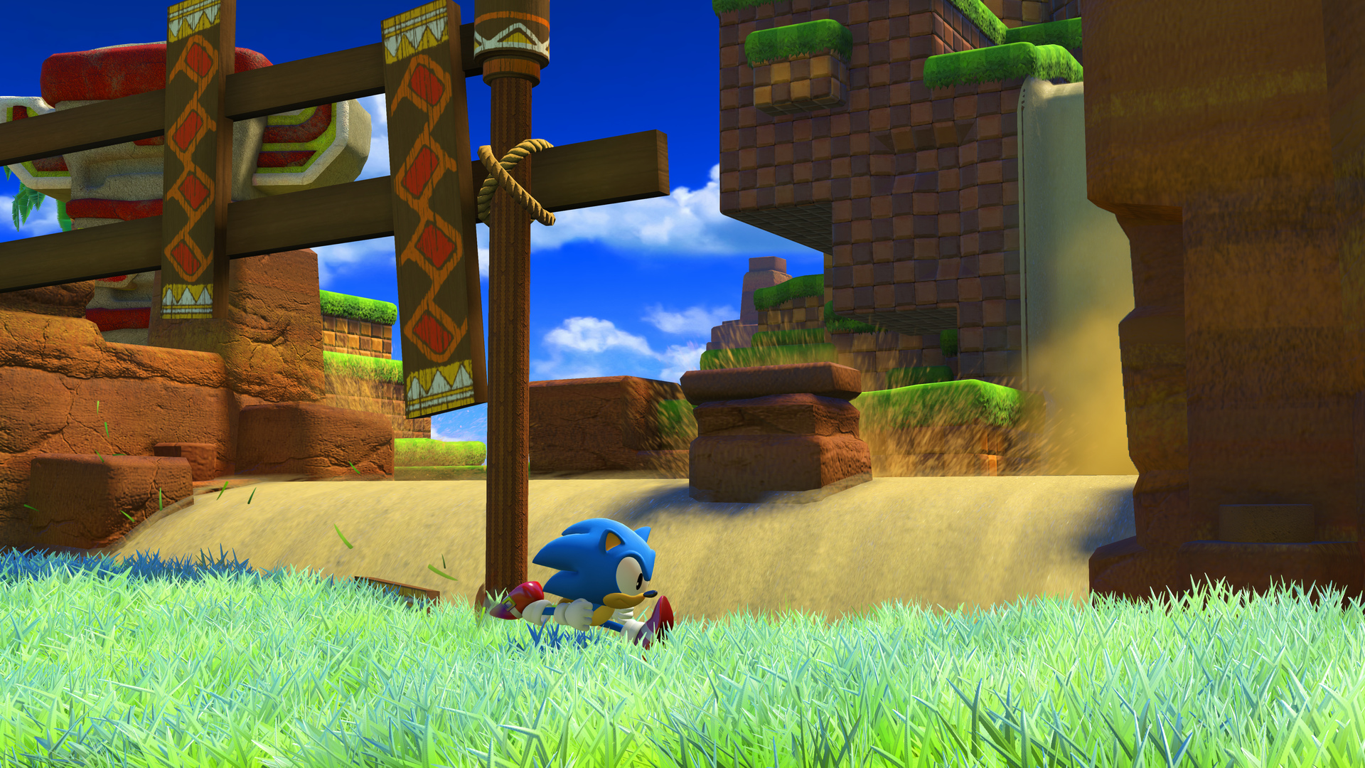 Sonic Forces (2017) PC - Скриншот 1