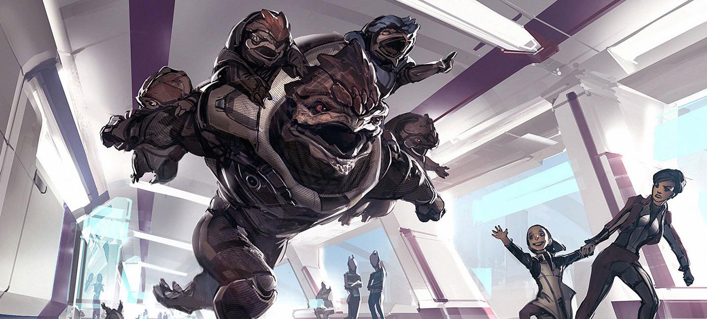 Вот какой могла стать Mass Effect Andromeda, если бы там были дети