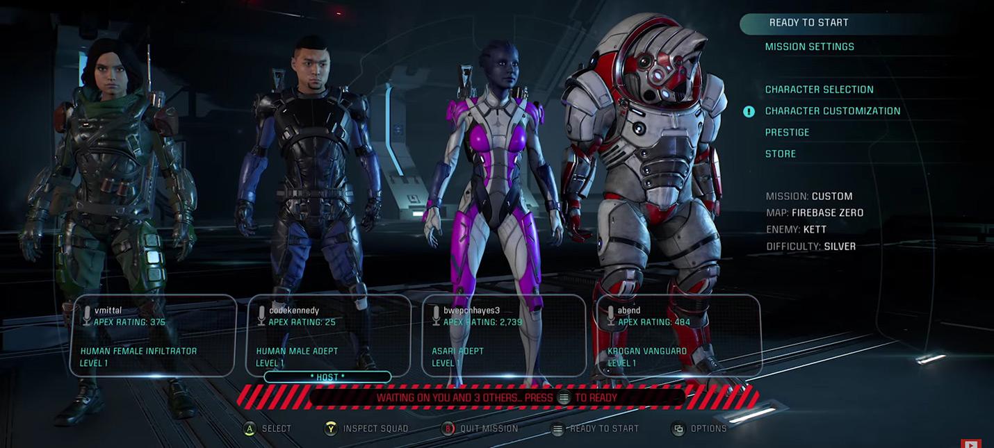Новый патч Mass Effect Andromeda улучшает мультиплеер, кат-сцены и другое