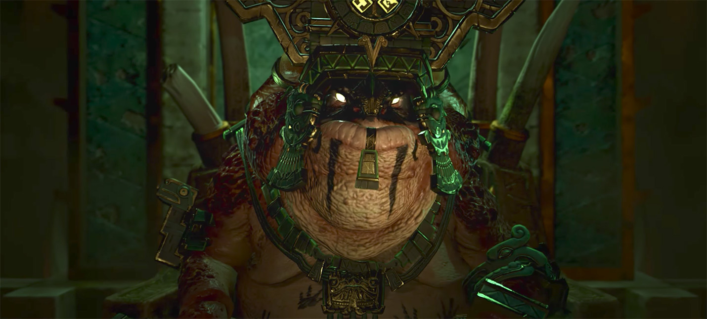 Трейлер рептилоидов Total War: Warhammer 2