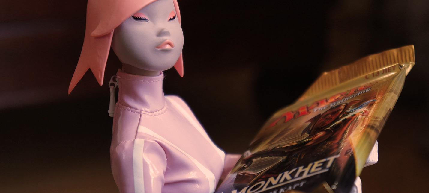 Розовая уточка Shazoo и Набор Создателя Колод Magic: The Gathering