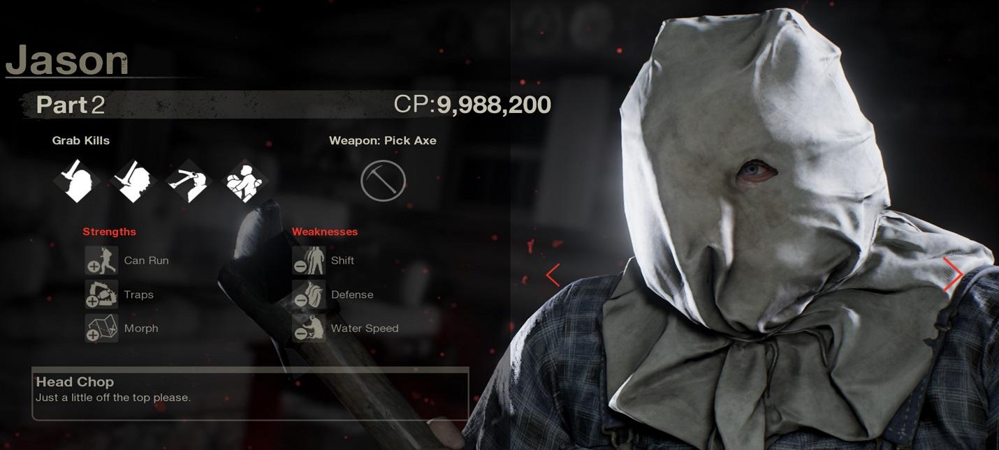 Очки кастомизации и как поднять уровень в Friday the 13th: The Game