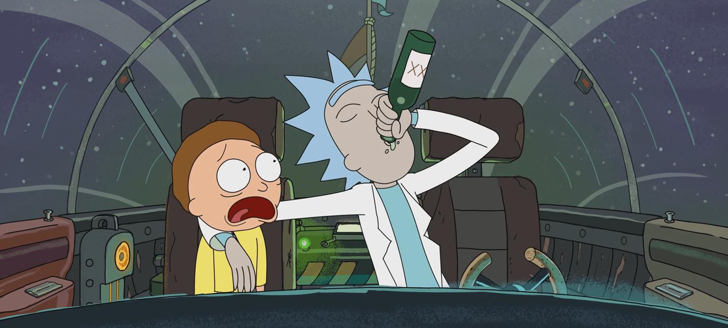 Необычный метод работы актера озвучки Rick and Morty