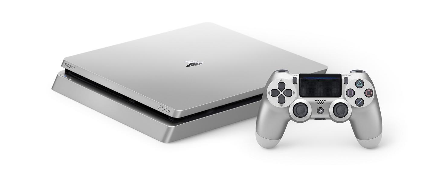 Sony показала ограниченные издания серебристой и золотой PS4